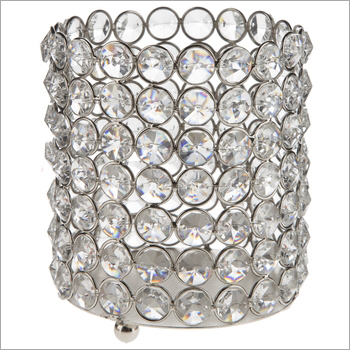 Synthetic Diamond Votive Holder