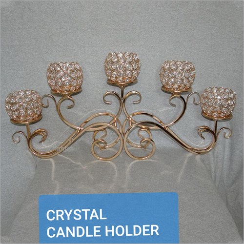 Crystal Candle Holder for 5 Candle