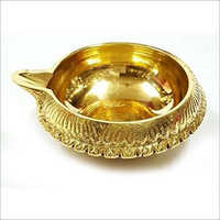 Antique Brass Diya