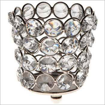 Synthetic Diamond Candle Holder