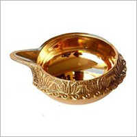 Decorative Brass Diya