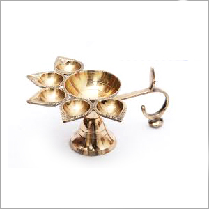 Brass Punch Diya