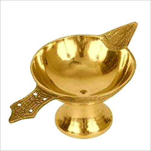 Golden Brass Diya