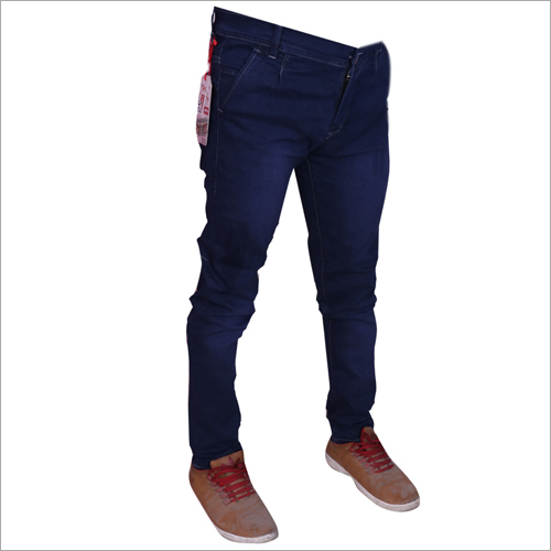 Mens Dark Blue Stretchable Jeans