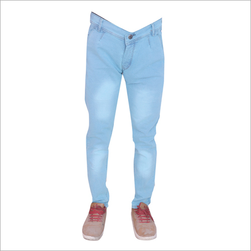 Mens Firosi Shaded Regular Fit Full Stretchable Jeans