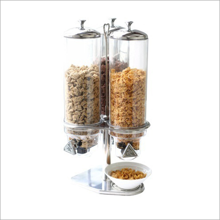 Triple Cereal Dispensers