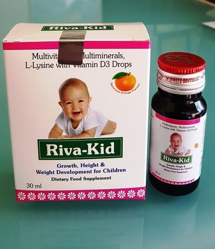 Multivitamin Multi mineral And L ysine with Vitamin D3 drops