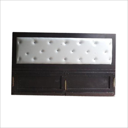 Wooden Bed And Headboard