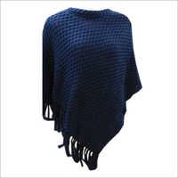 Woolen Poncho Top