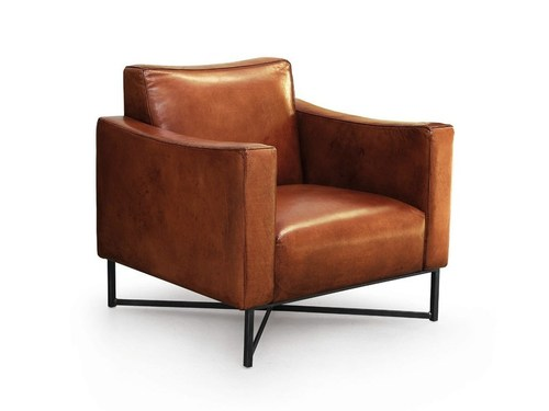 Iron Leather Sofa