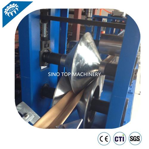 Cardboard Edge Protector die notching Production Machine