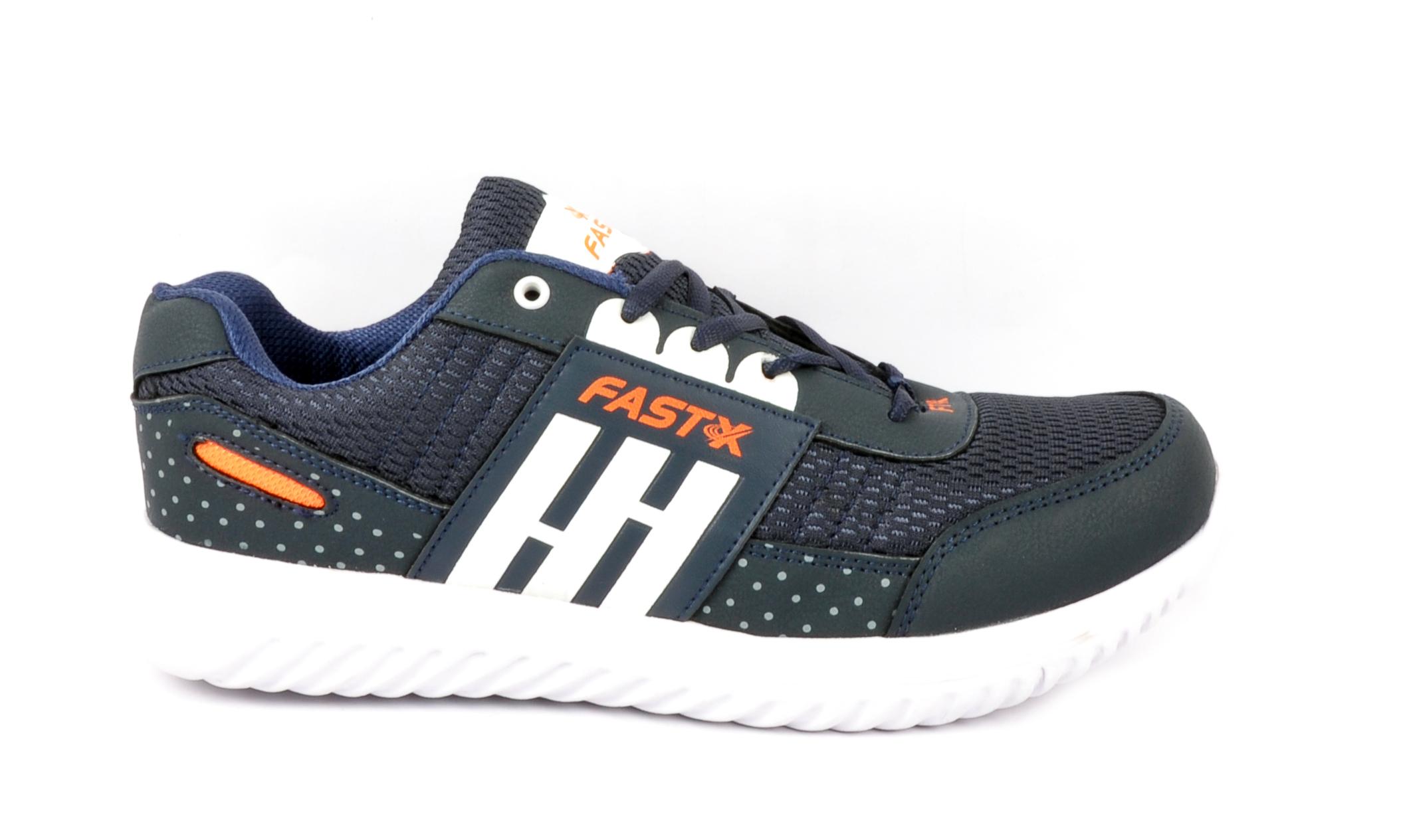 Orange & Navy Blue Sports Shoes