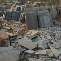Natural Black Sandstone Slab