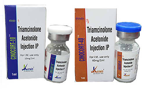 Triamcinolone Acetonode Injection(cioncort-40&10)