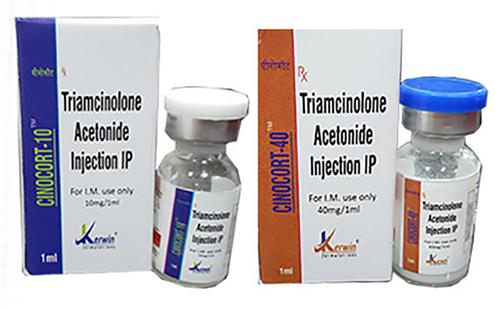 Triamcinolone Acetonode Injection(cioncort-40&10)