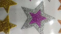 Craft Villa Sparkle Star Glitter Sticker