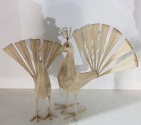 Handmade Wirework Peacock