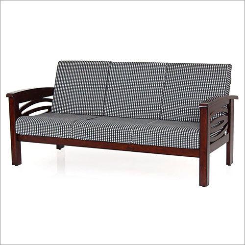 Simple Wooden Sofa Set