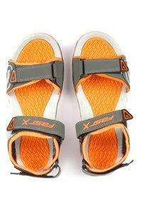 Floaters sandal FS101 D.Grey Orange