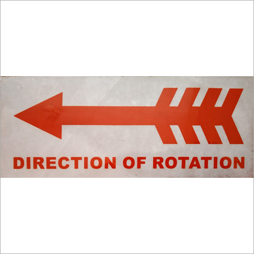 Direction Signs Steel Plate