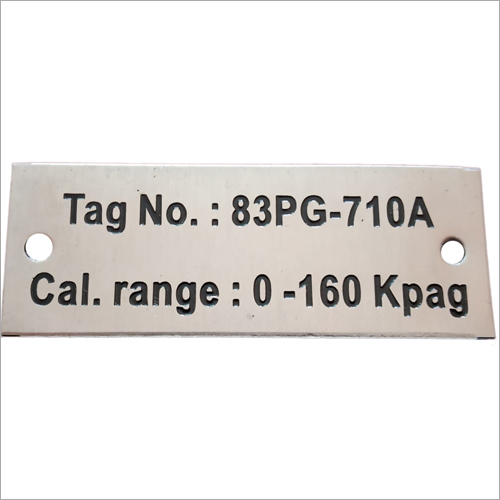 Stainless Steel Signs Plate