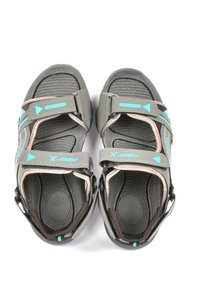 Mens Casual Floaters  D.Grey/C.Green