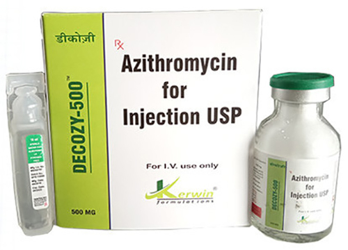 Azitromycin 500 (lyophilized Powder Form)