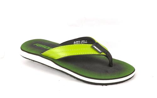 Slipper Black P.Green