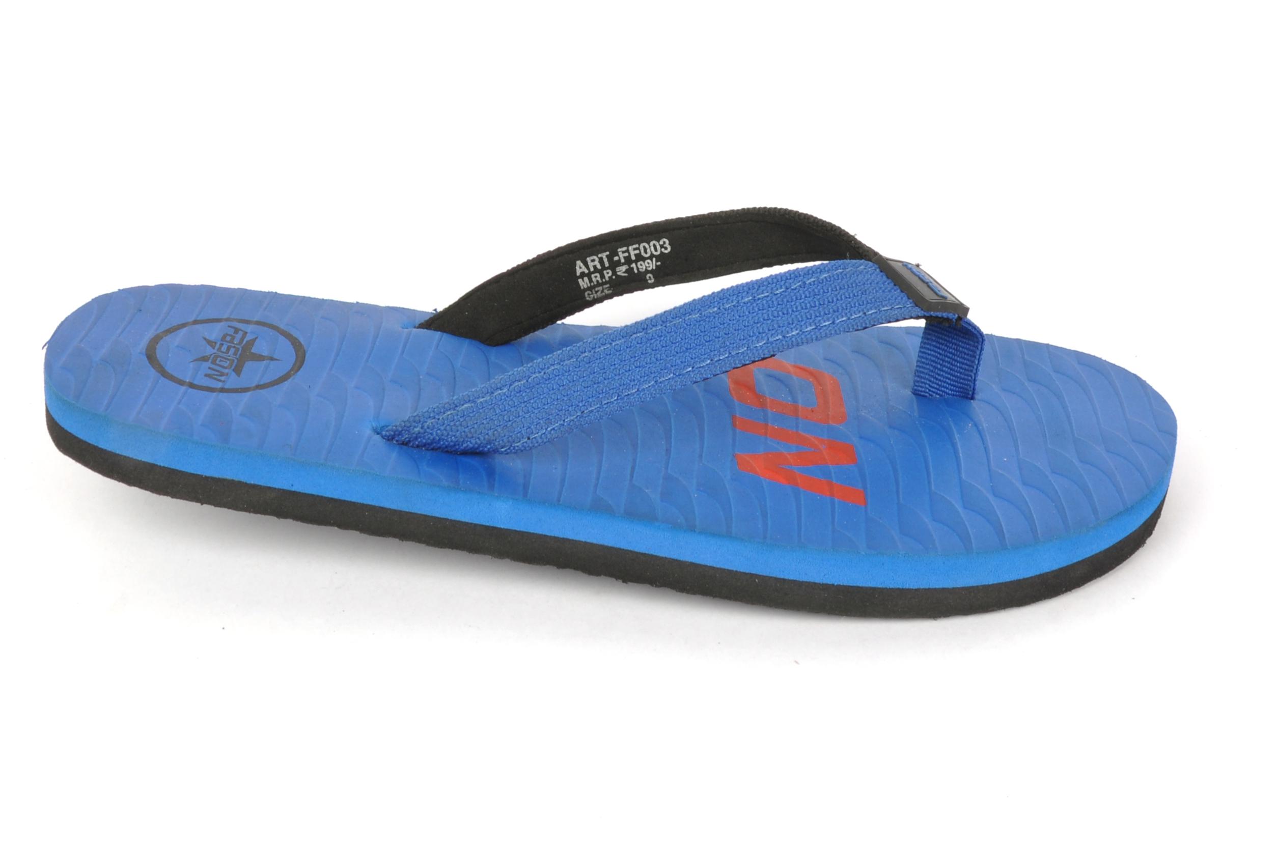 Blue Flip Flop Slipper