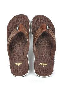 Brown Flip Flop Sandals