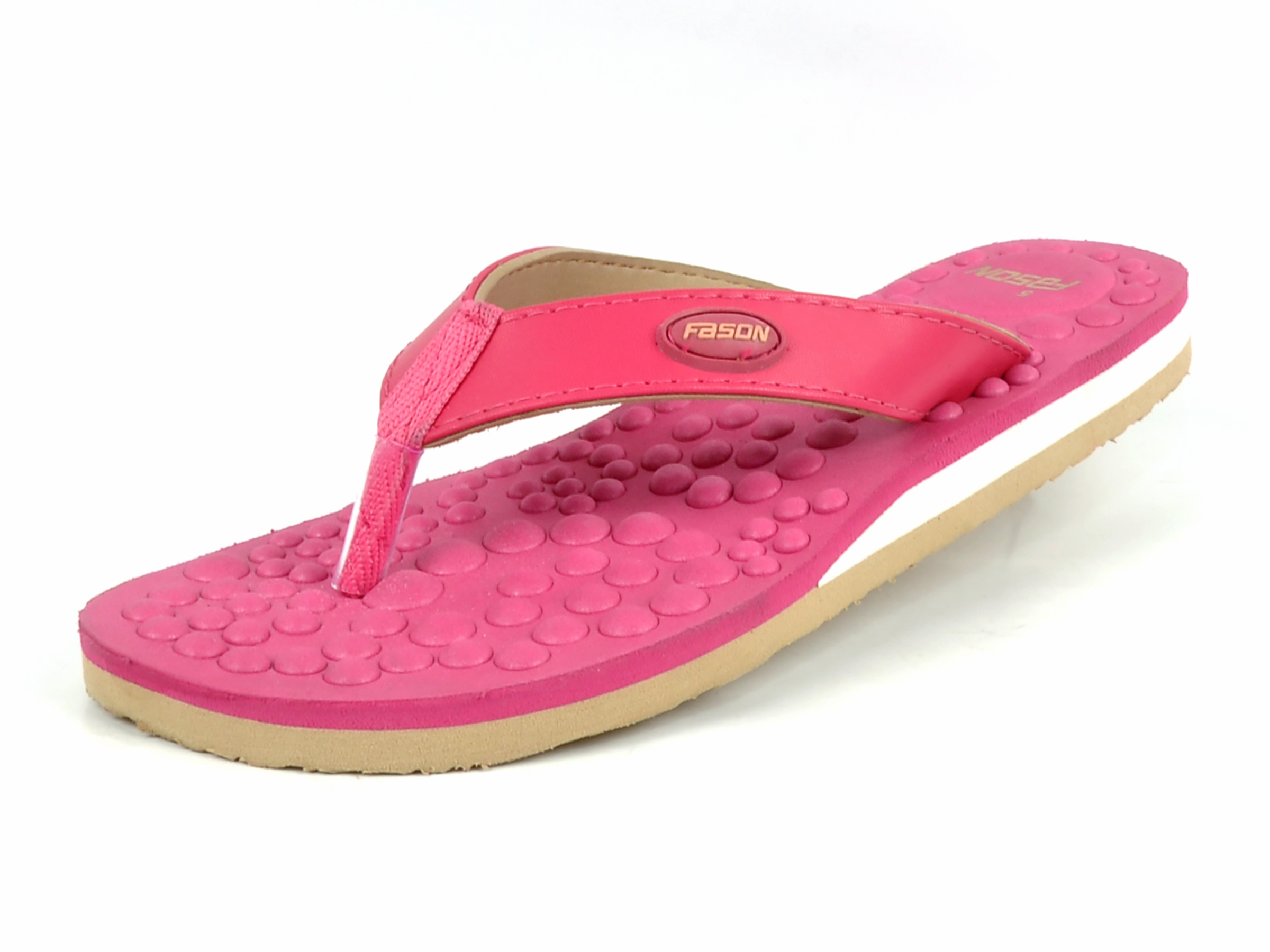 Ladies Pink Flip Flop slipper