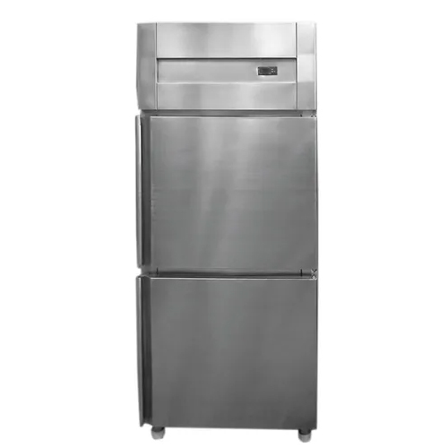 SS Vertical Double Door Fridge