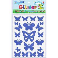 Craft Villa Glister Butterfly Glitter Sticker