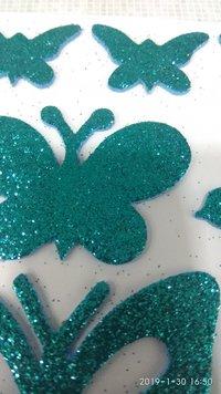 Craft Villa Glister Butterfly Glitter Sticker