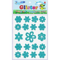 Craft Villa Glister Flower Glitter Sticker
