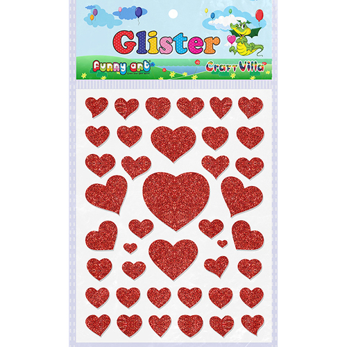 Craft VIlla Glister Glitter Sticker