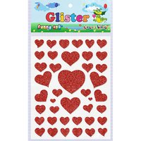 Craft Villa Glister Heart Glitter Sticker