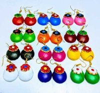 Colourful Terracotta Earrings