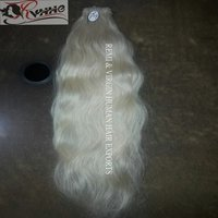 Blonde Color Natural Wavy Hair