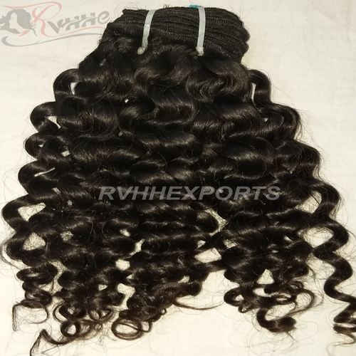Yes Virgin Weaving Extension Type Natural Raw Indian Curly Hair