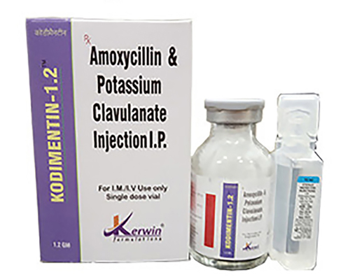 Amoxycillin Potassium 1 Gm+Clavulanic Acid 200 Mg