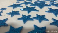 Craft Villa Glister Star Glitter Sticker