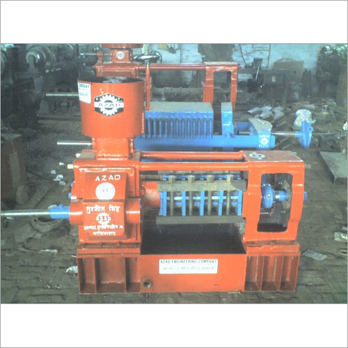 4 Bolt Double Gear Oil Expeller Bed Type