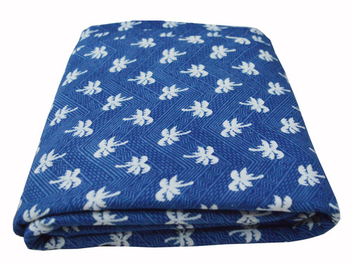 Tree & Flower Leaf Design Printed Home Décor Curtain Art Craft Window Shades Material Fabric