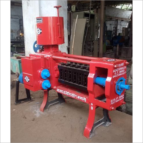 Double Gear 6 Bolt Oil Expeller