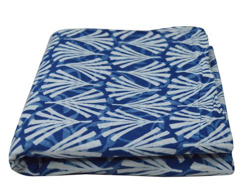 Indigo Print Blue Color Fabric