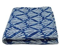 Indigo Print Blue Color Fabric