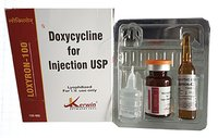 Doxycyclin 100 mg (lyophilized powder Form)