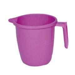Plastic mug 1.5 ltr marbel