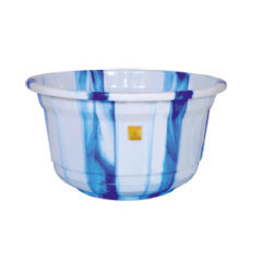 Plastic double colour tubs